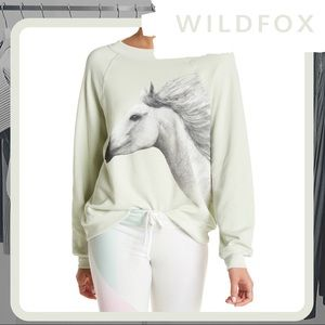 🆕 NWT WILDFOX Camarillo (Horse) Sommers Sweater